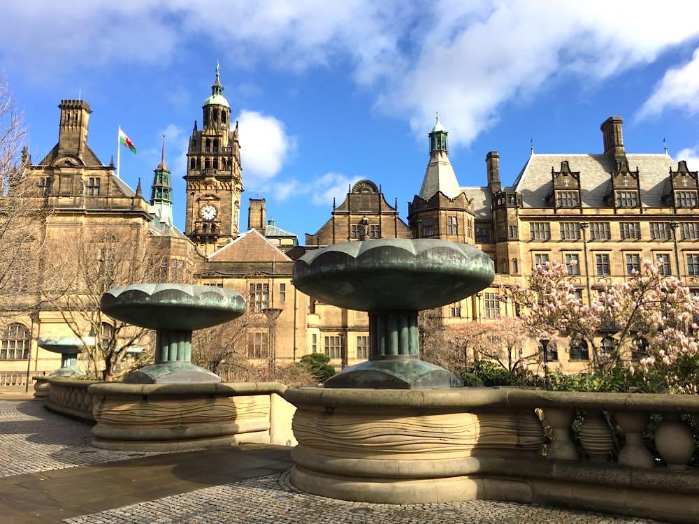 Sheffield Städtetrip: Sehenswürdigkeiten Tipps Reiseplanung Town Hall