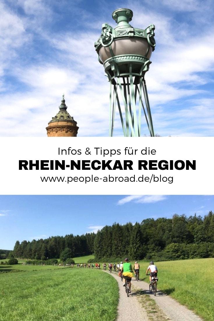 103 - Rhein Neckar: Infos & Tipps für die Region
