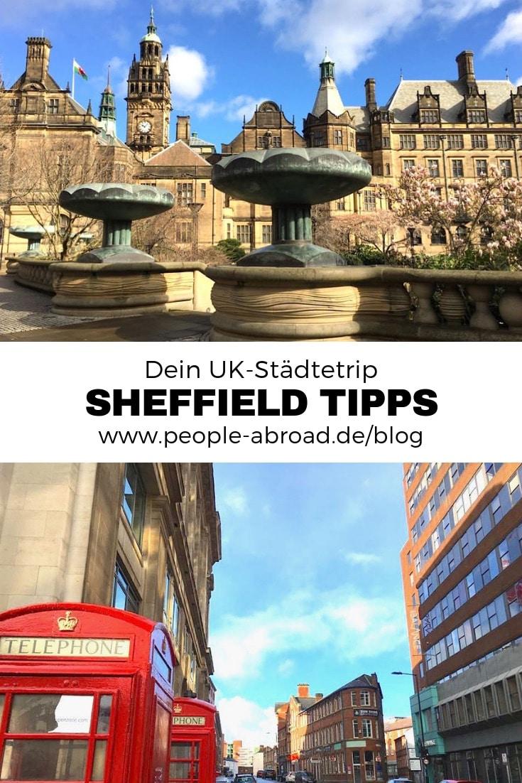 Werbung / Sheffield Städtetrip: Tipps für die Outdoor City #Städtereise #Sheffield #England #UK #Kurztrip
