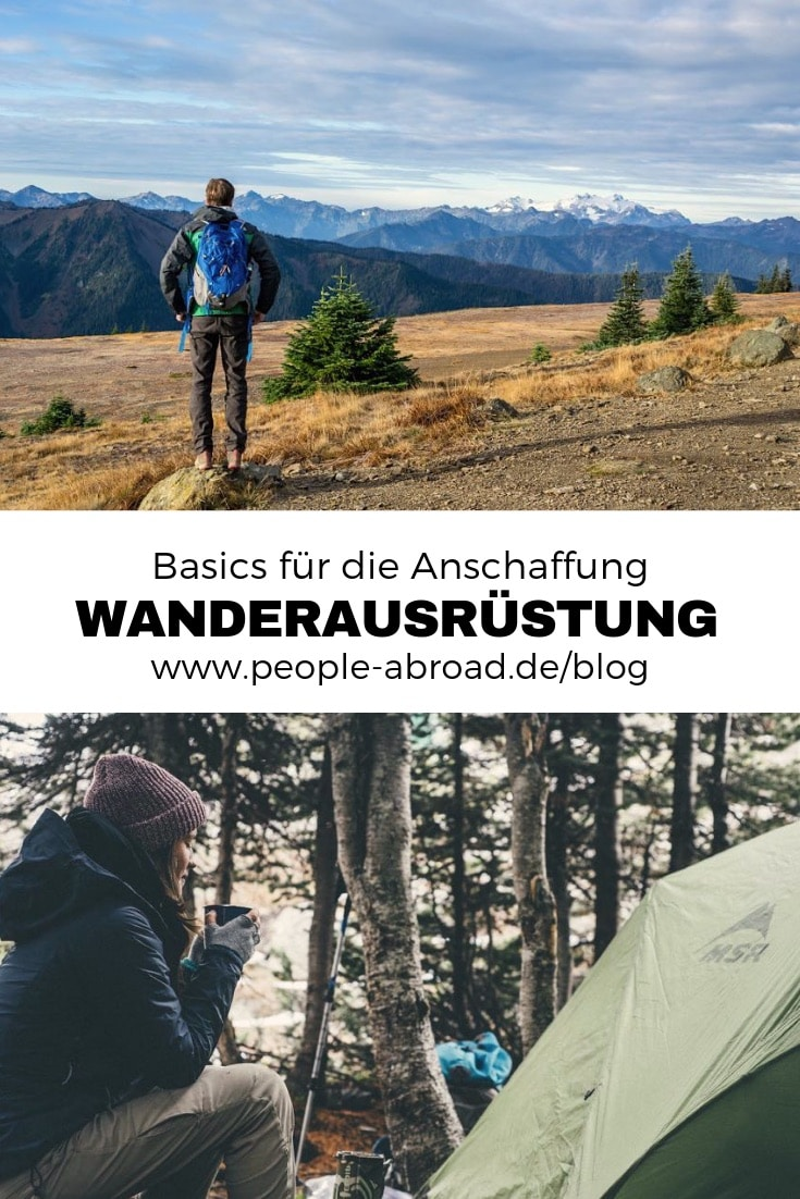 Werbung / Wanderausrüstung: Basics für die Anschaffung #Wandern #Outdoor #Aktivreise #Ausrüstung #Wanderurlaub