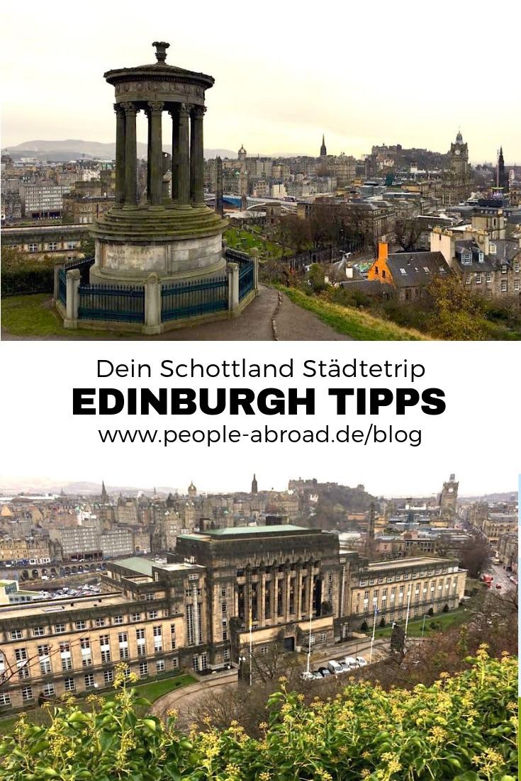 108 - Edinburgh Sehenswürdigkeiten - Infos & Tipps