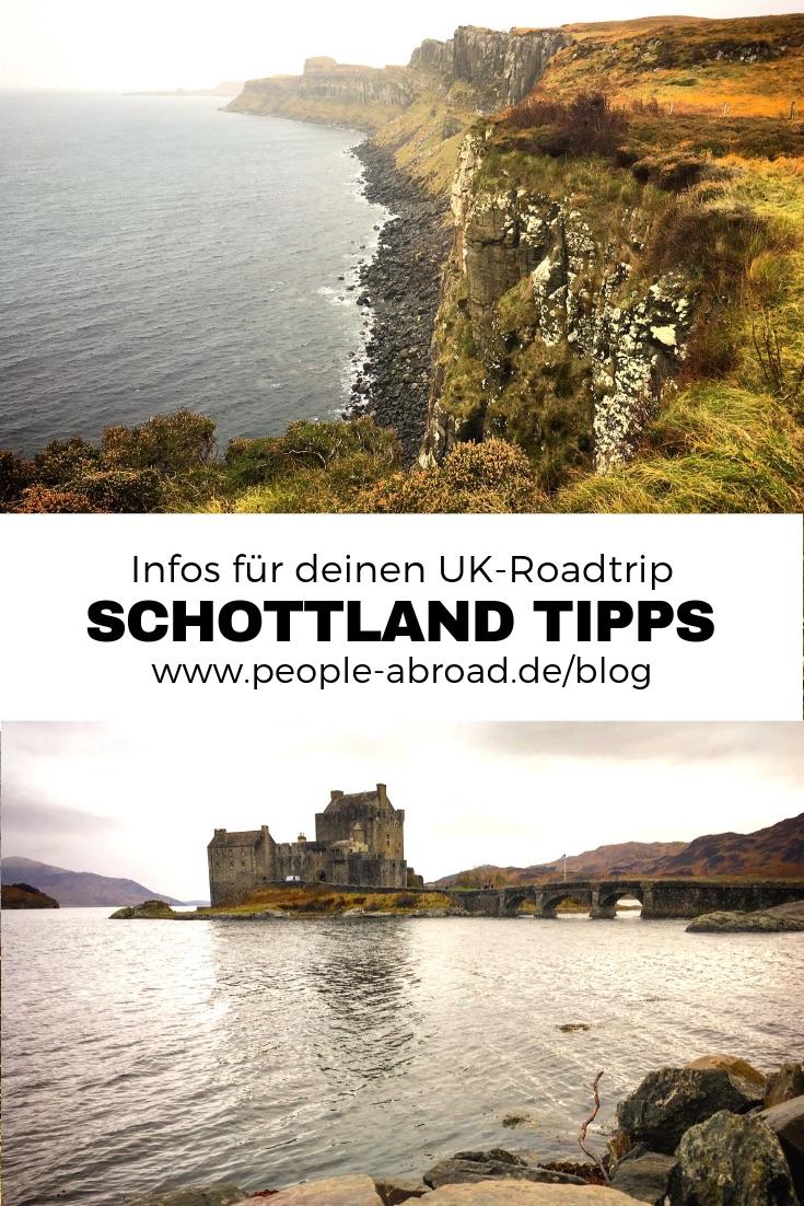 Roadtrip Schottland: Sehenswürdigkeiten & Tipps #Schottland #Roadtrip #UK #Reise #England