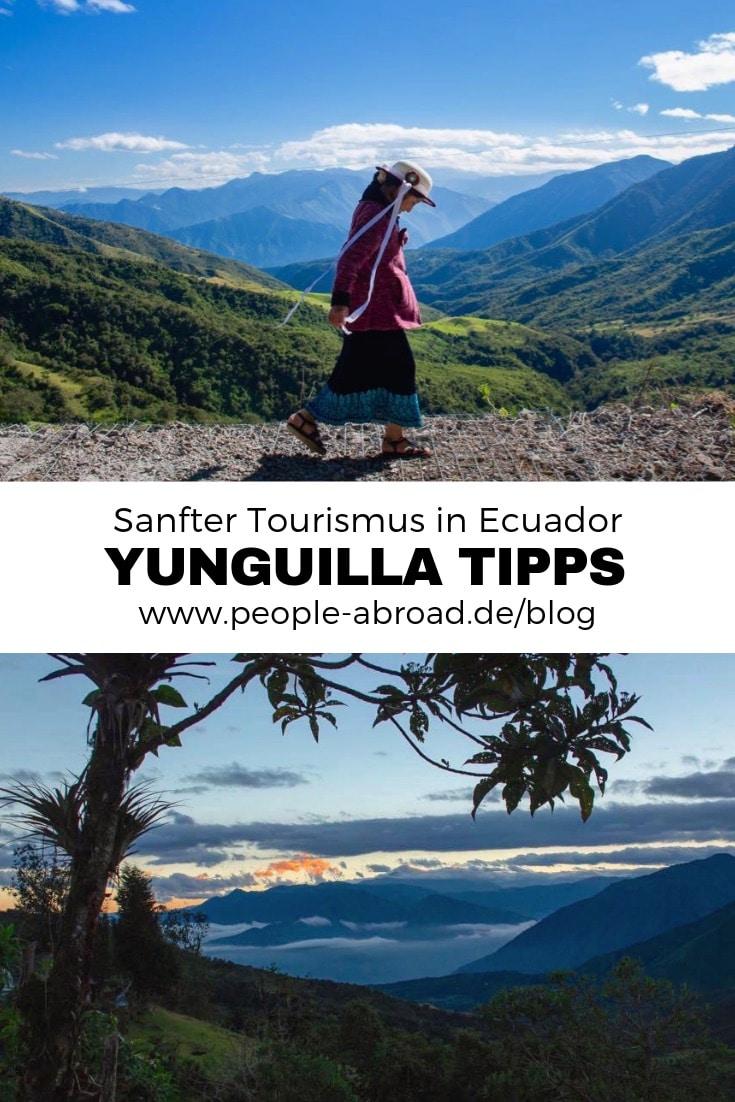 Nachhaltig Reisen nach Yunguilla in Ecuador #Reise #Südamerika #Ecuador #Nachhaltigkeit #Lateinamerika