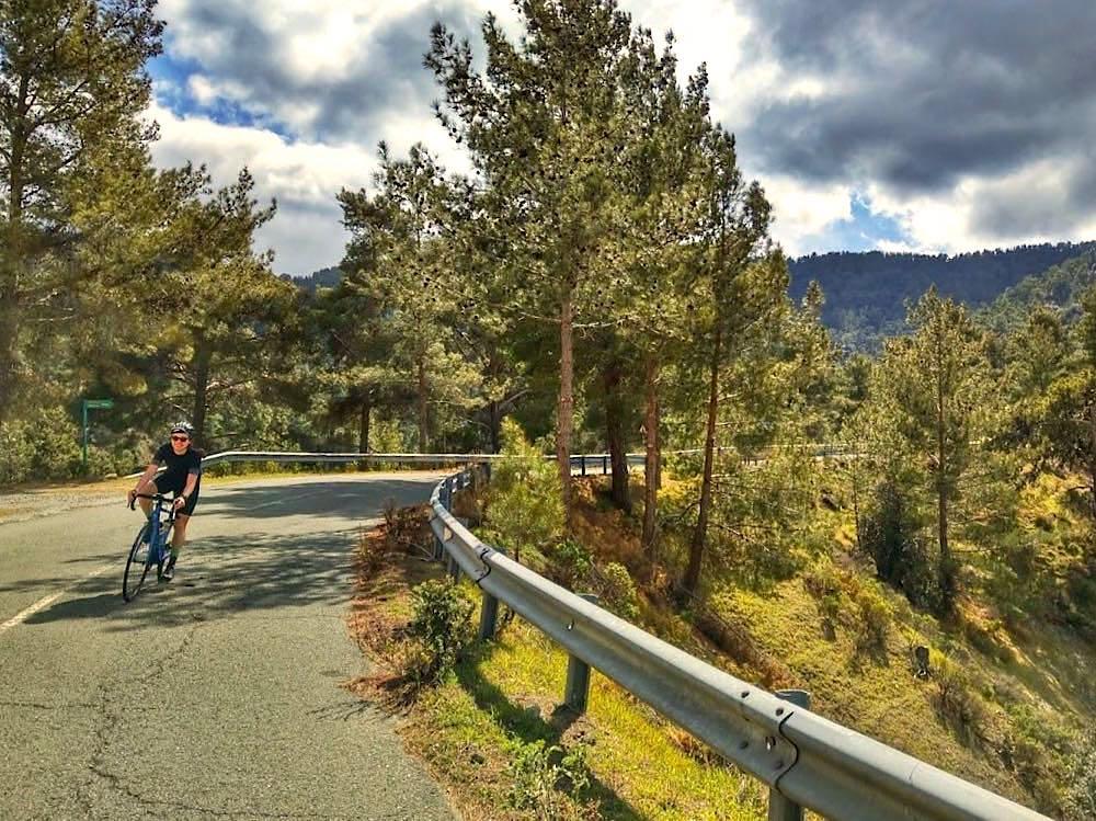 Zypern Urlaub: Mit dem Rennrad unterwegs