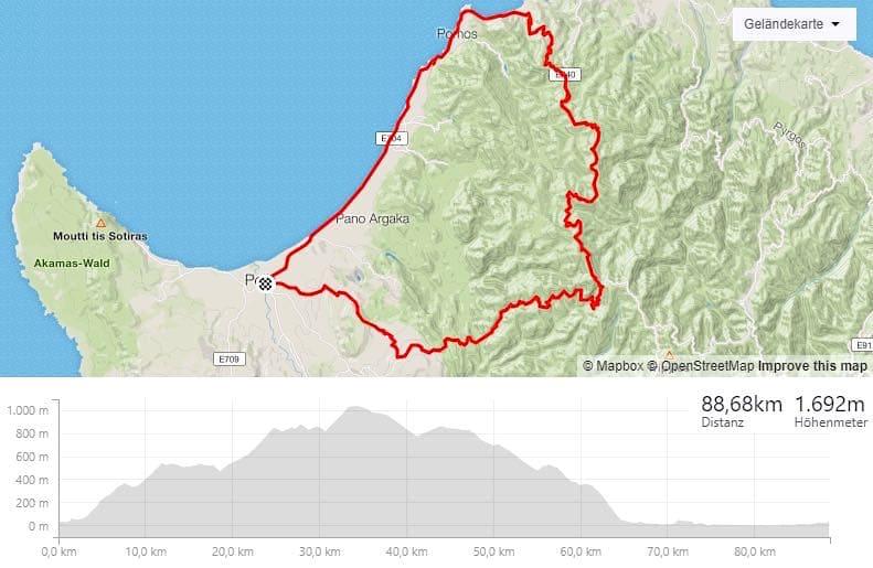 Zypern Rad Biken