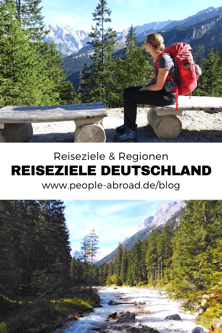 Kurzurlaub Deutschland: Reiseziele & Regionen #Deutschland #Urlaub #Reise #Kurzurlaub #Reisetipps