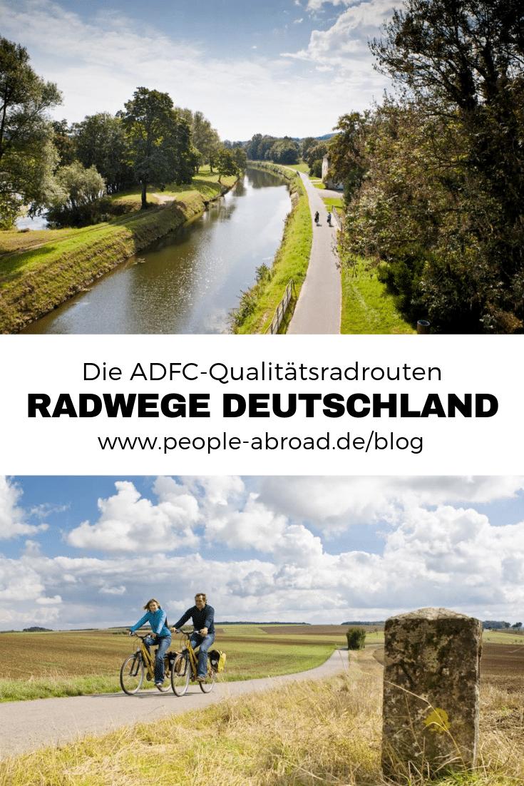Radtouren Deutschland: Fahrradwege im Test #Urlaub #Reise #Radreisen #Radurlaub #Radfahren