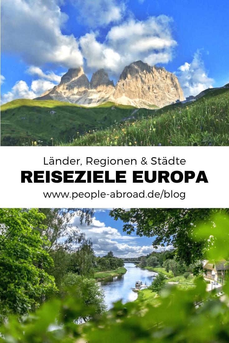 Urlaubsziele Europa: Regionen & Reisetipps #Reisen #Reiseziele #reiseinspirationen #europa #urlaub