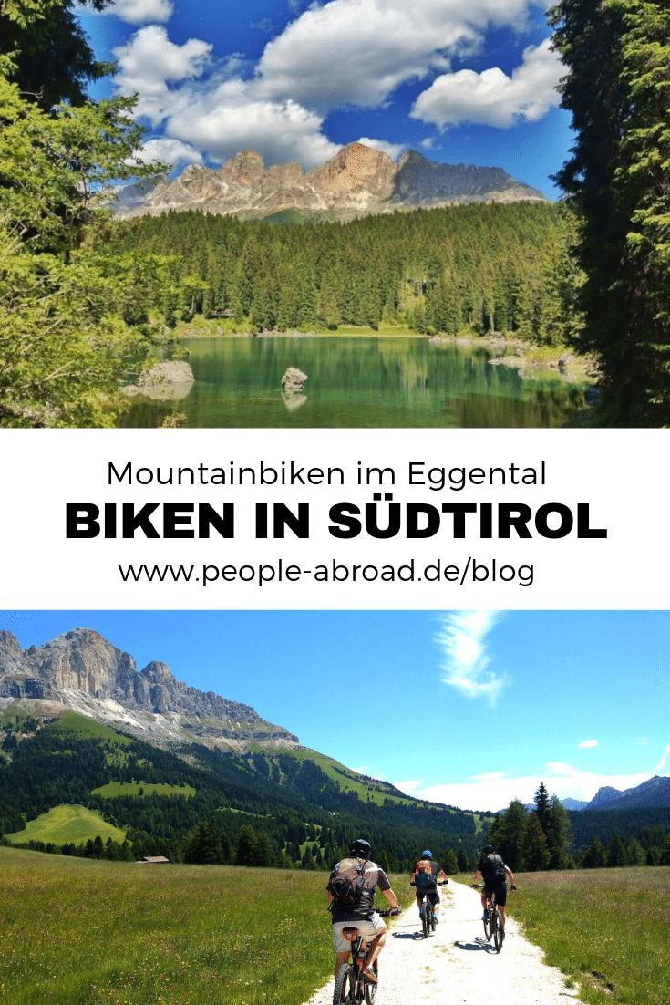 Mountainbiken in Südtirol im Eggental #Urlaub #Reise #Radfahren #Südtirol #Italien