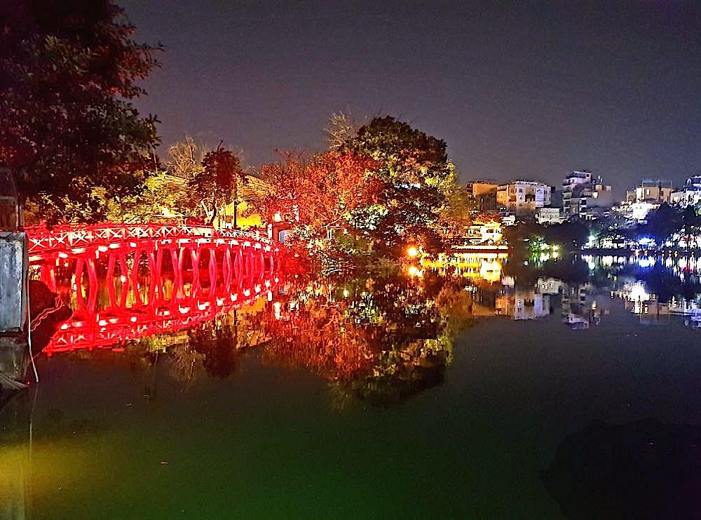 Hanoi Vietnam Hoan Kiem See