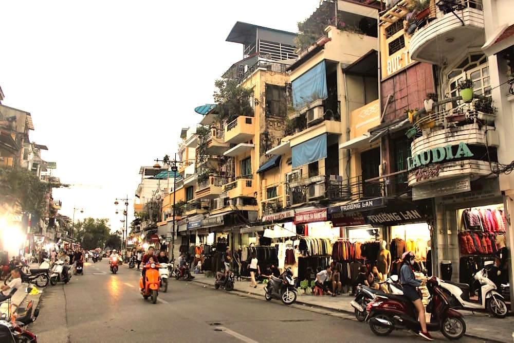 Hanoi Vietnam Old Town Altstadt