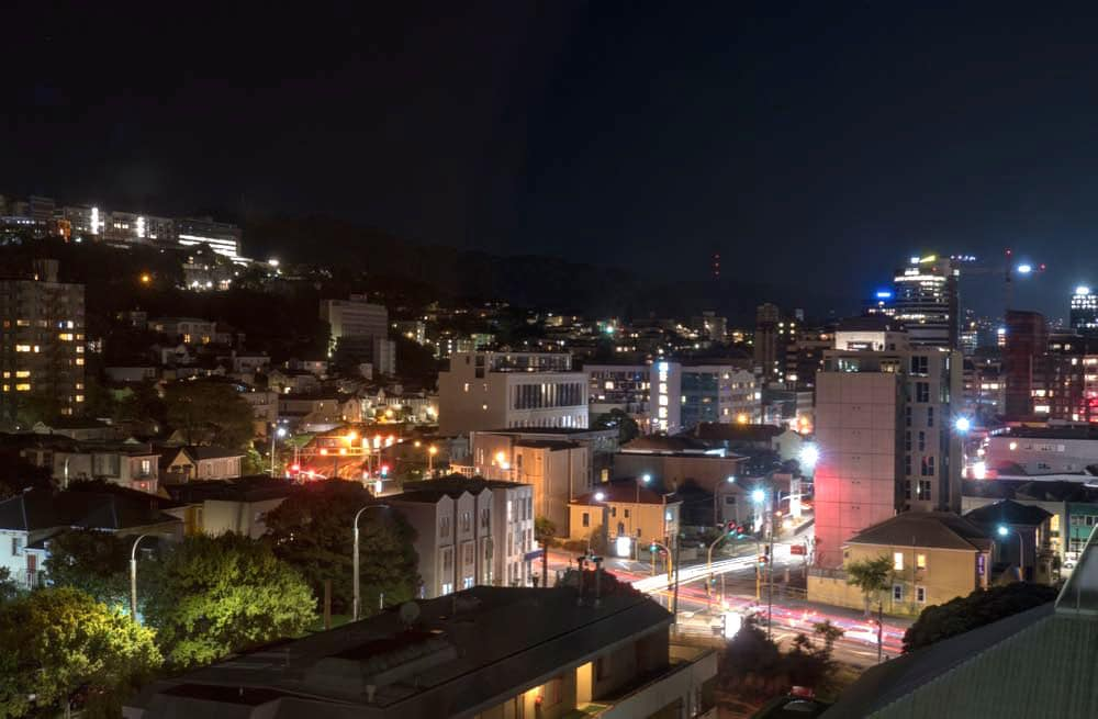 Wellington by night
