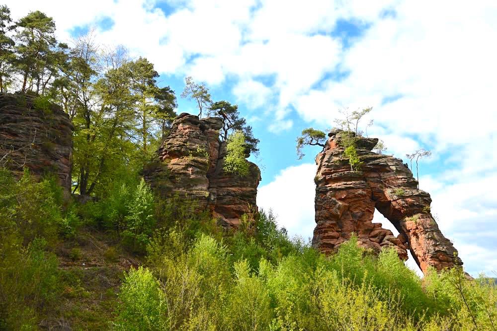 Dahner Felsenland Schillerfelsen