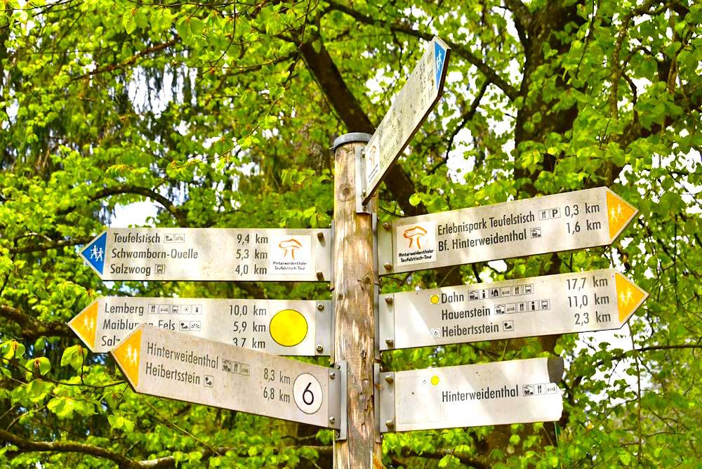 Pfälzerwald Wanderwege Wandern