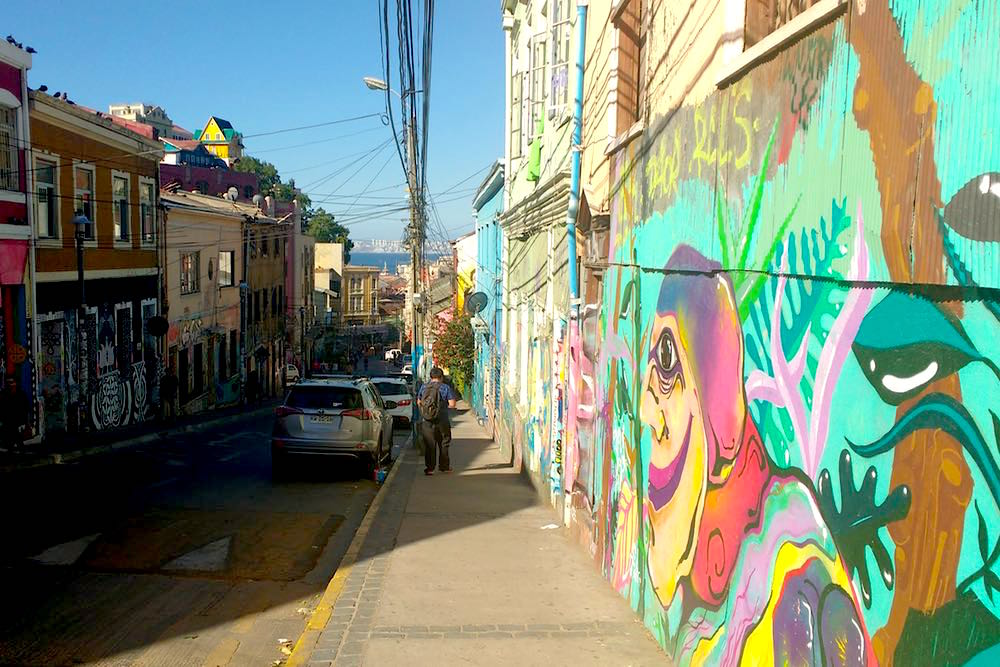 Valparaiso Valpo Chile Streetart Graffiti