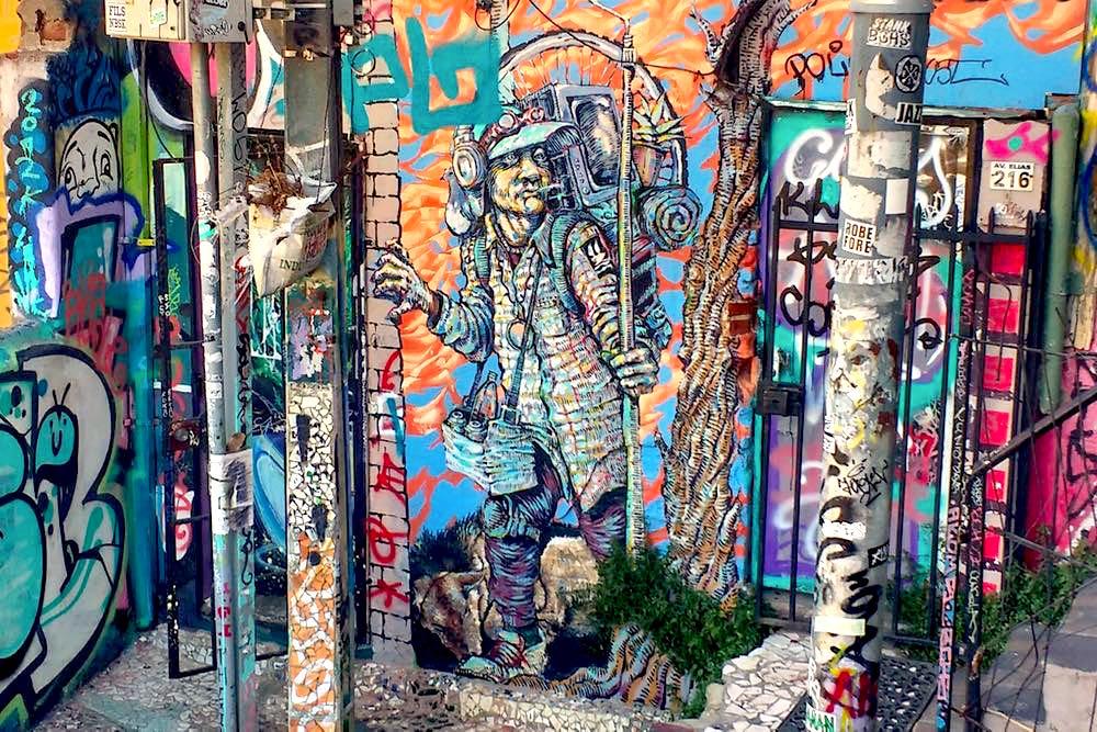 Valparaiso Chile Streetart Graffiti