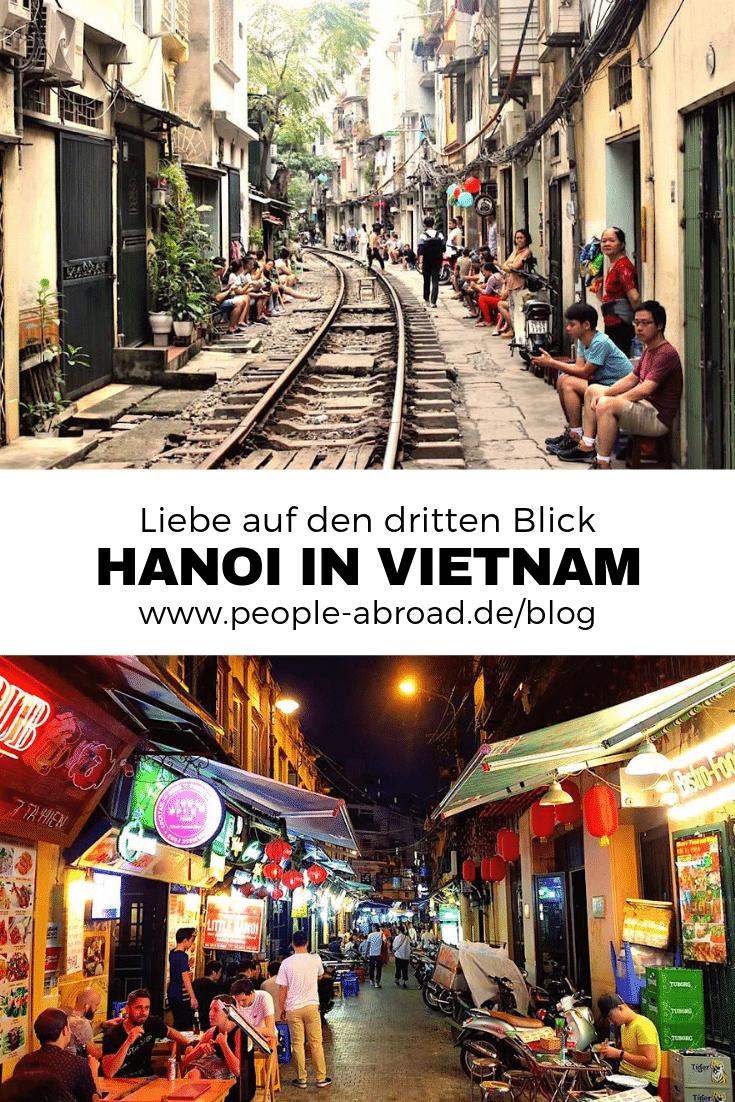 Liebe auf den dritten Blick - Hanoi in Vietnam #Reiseziele #Asien #Vietnam #Reiseinspirationen #Reisen