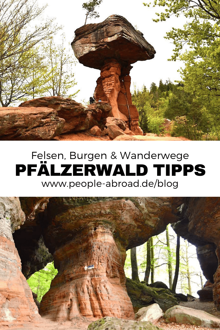 Werbung / Felsen, Burgen, Wanderwege - Pfälzerwald Tipps #Reiseziele #Reiseinspirationen #Deutschland #Reisen #Pfalz