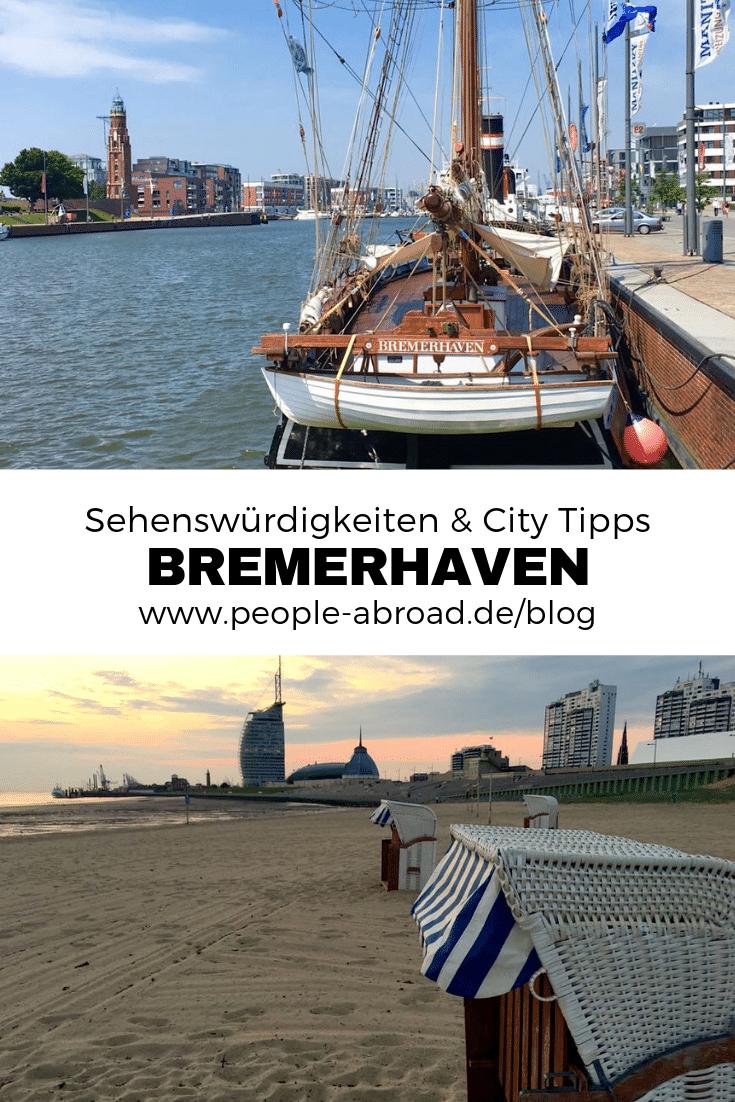 Werbung / Bremerhaven: Sehenswürdigkeiten und Tipps für deinen Städtetrip #Reiseziele #Reiseinspirationen #Deutschland #Bremerhaven #Nordsee
