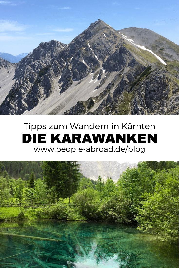 Werbung / Wandern in Kärnten: Wandertour in den Karawanken #Reiseziele #Reiseinspirationen #Österreich #Kärnten #Wandern #Visitcarinthia