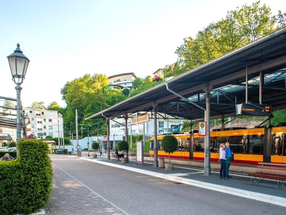 Bad Herrenalb Bahnhof
