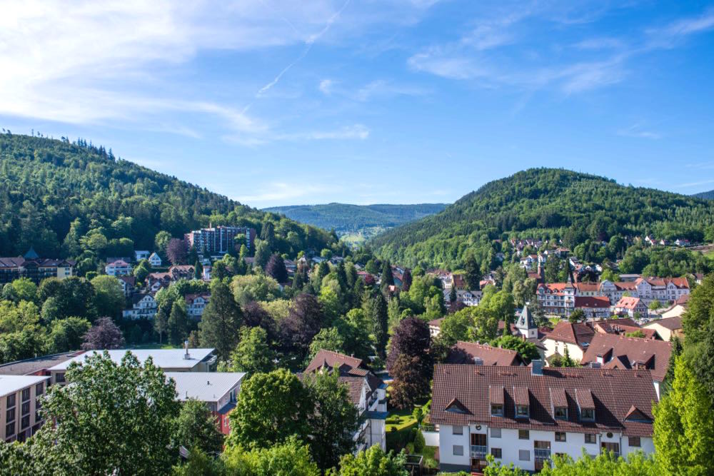 Bad Herrenalb im Schwarzwald
