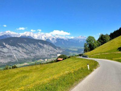 Imst in Tirol mit dem Rad erkunden