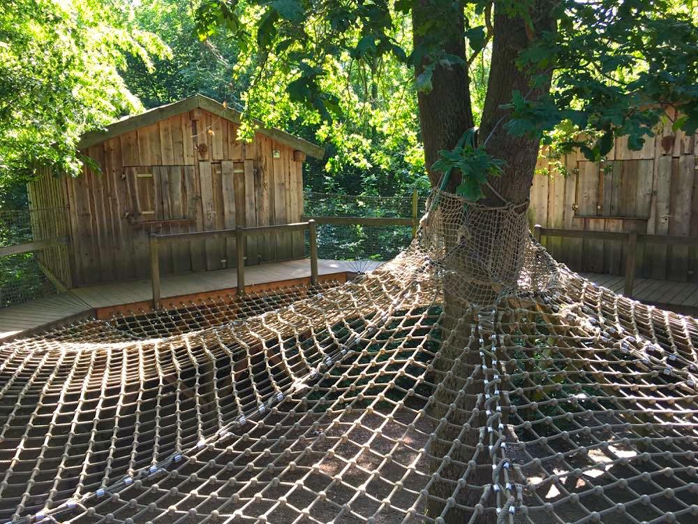 Jugendherberge Hainich Urwald Life Camp Baumhaus