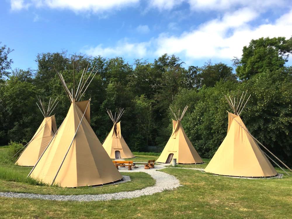 Jugendherberge Hainich Urwald Life Camp Tipi