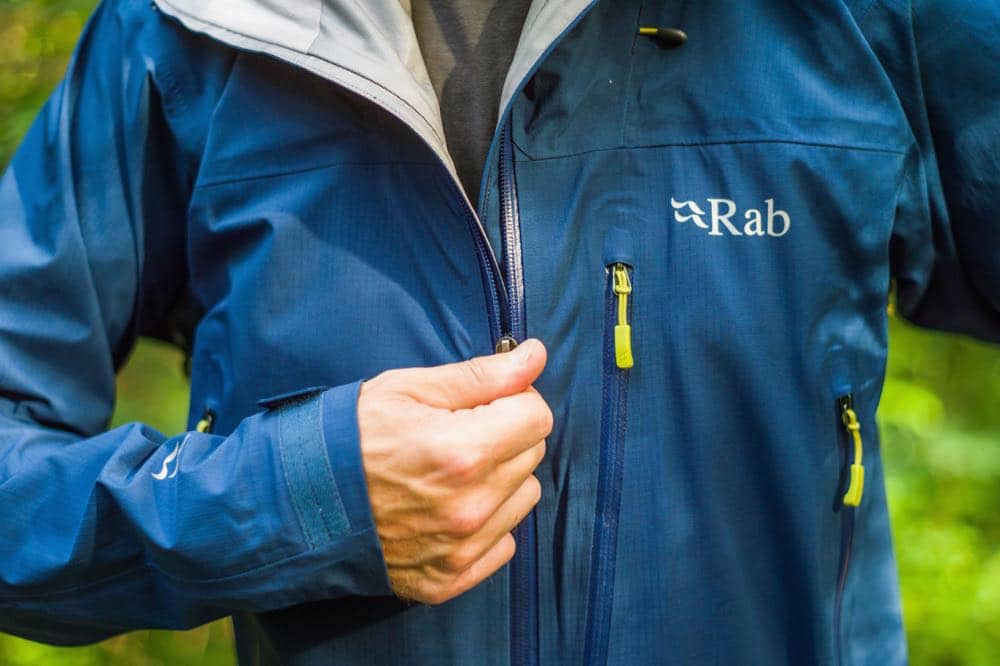 rab firewall jacket outdoorjacke 1 - Rab Equipment: Die Firewall Jacket im Test
