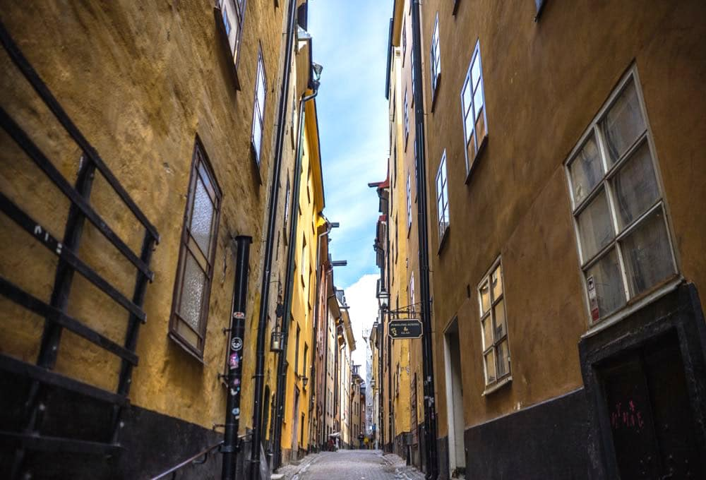stockholm city gamlastan - Stockholm: 10 Tipps für deine Städtereise