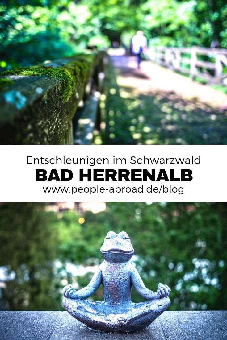 Werbung / In Bad Herrenalb nachhaltig entschleunigen #Reiseinspiration #Reise #Urlaub #Schwarzwald #Deutschland