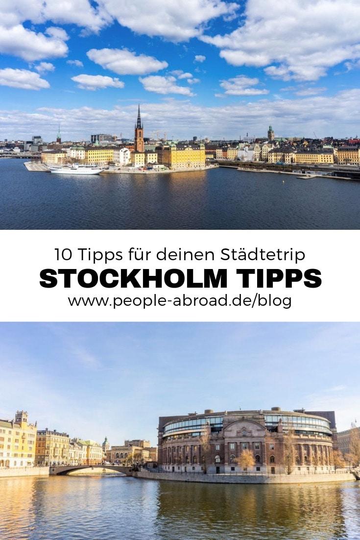 Stockholm: 10 Tipps für deinen Städtetrip #Reise #Stockholm #Skandinavien #Schweden #Reiseinspiration