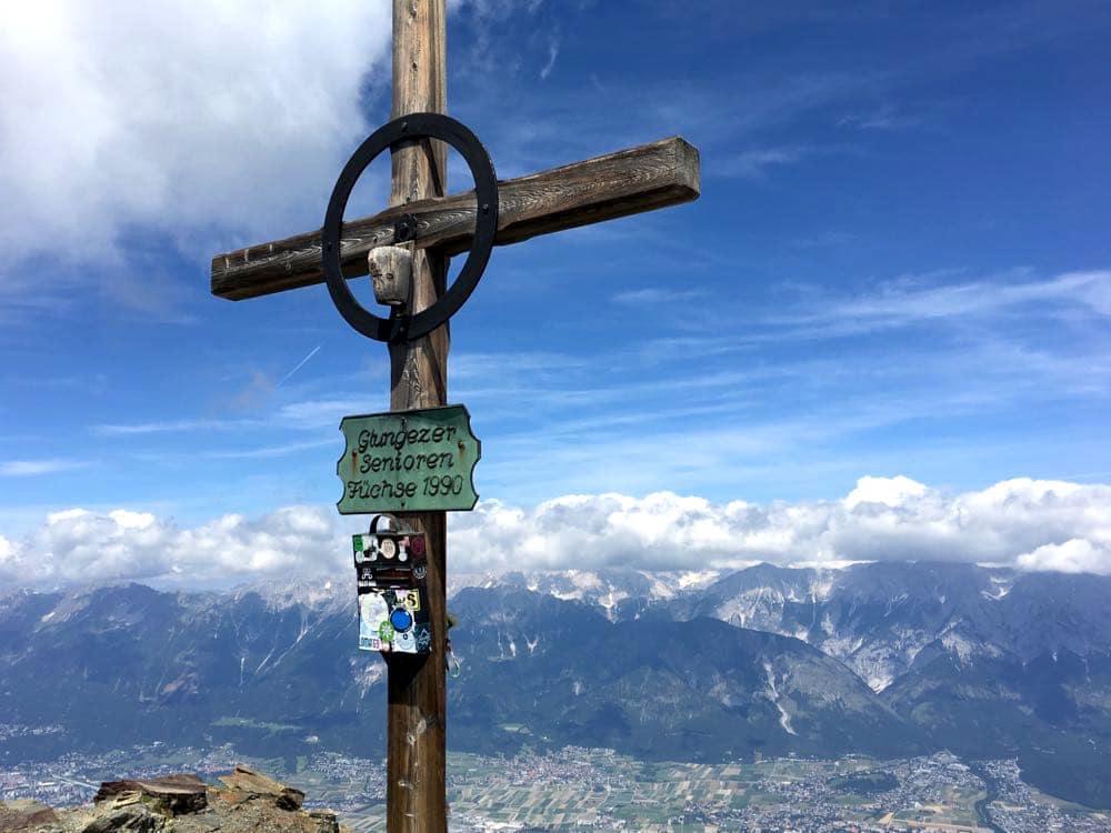 Tirol Region Hall-Wattens Tuxer Alpen Österreich Sonnenspitze