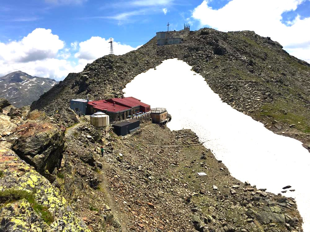 Glungezerhütte Tuxer Alpen