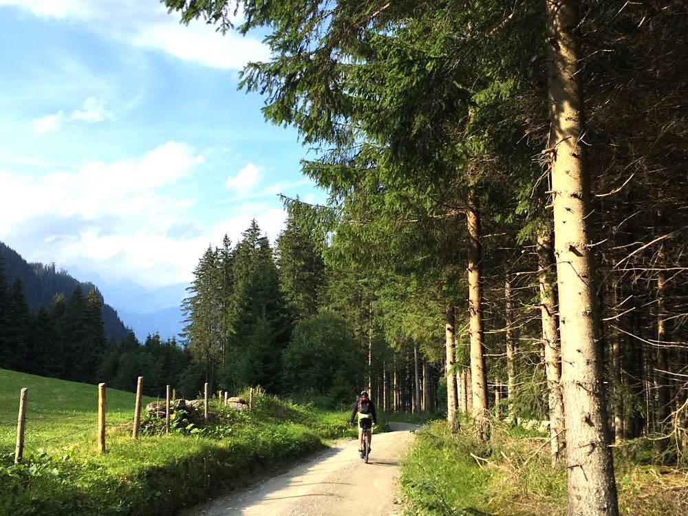 Tirol Region Hall-Wattens Mountainbike Tuxer Alpen Österreich