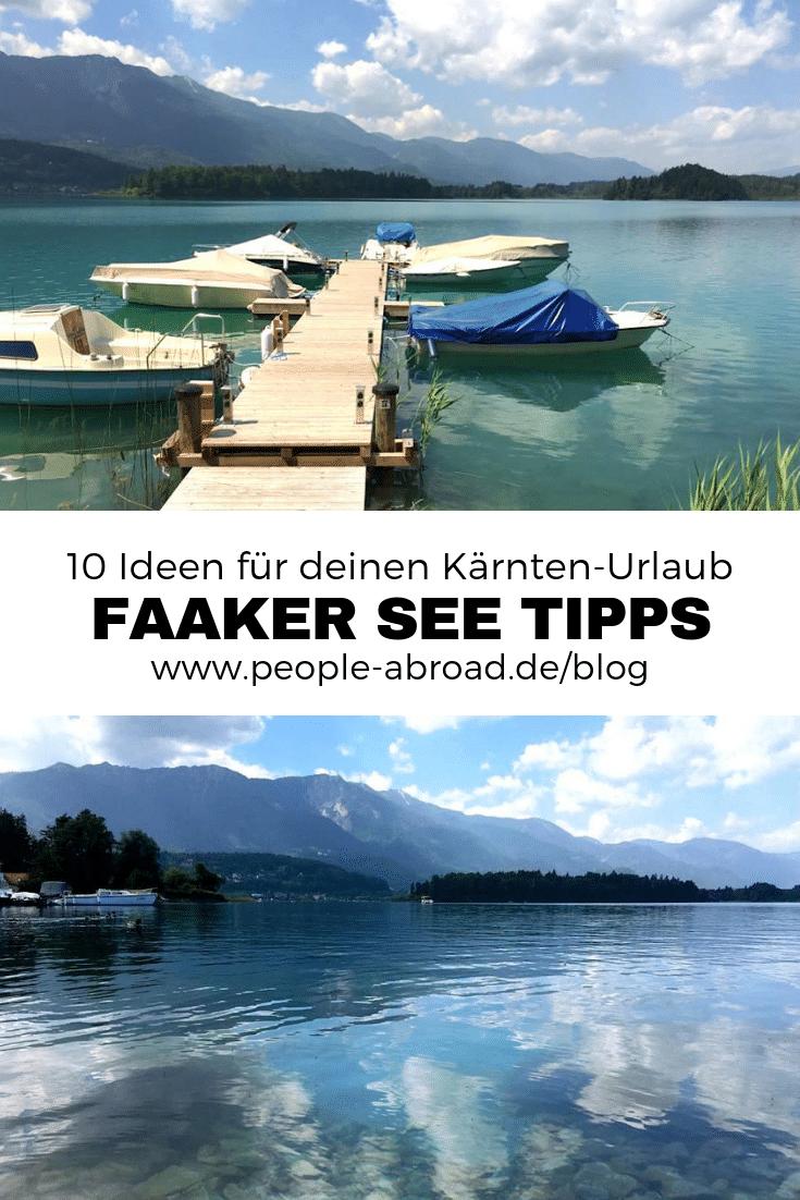 136 - Region Villach: 10 Tipps für den Faaker See