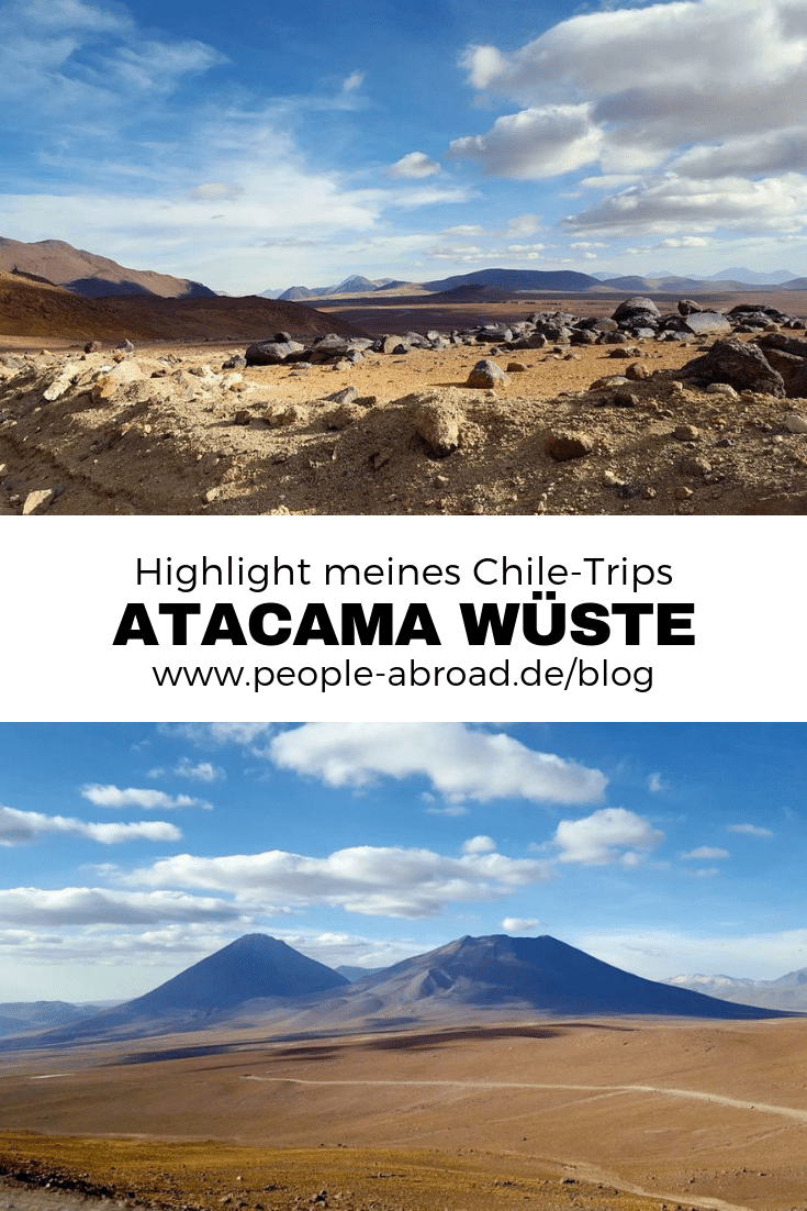 Die Atacama Wüste - Highlight meines Chile-Trips. #Chile #Südamerika #Reisen #Reiseinspiration #Wüste