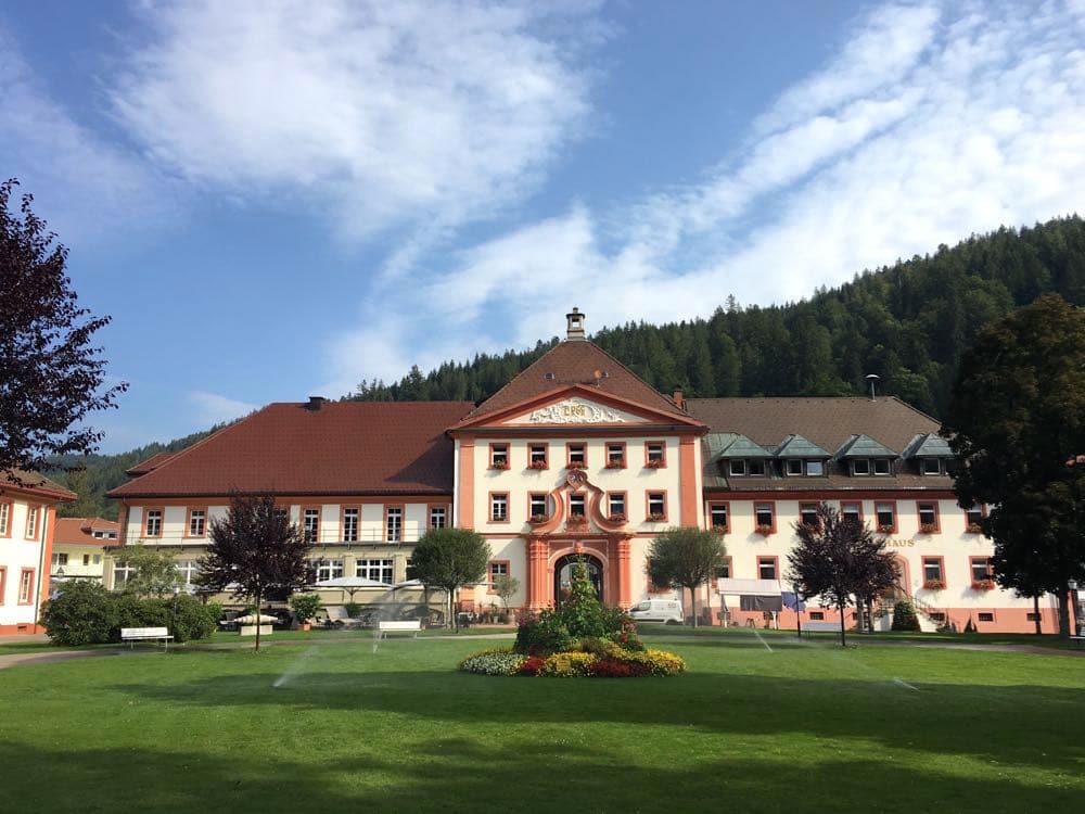 St. Blasien Rathaus Schwarzwald