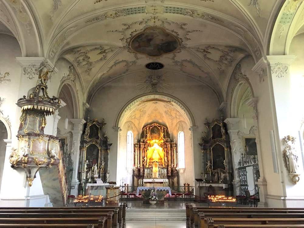 Todtmoos Kirche Unser Lieben Frauen Wandern Aktivreise Schwarzwald
