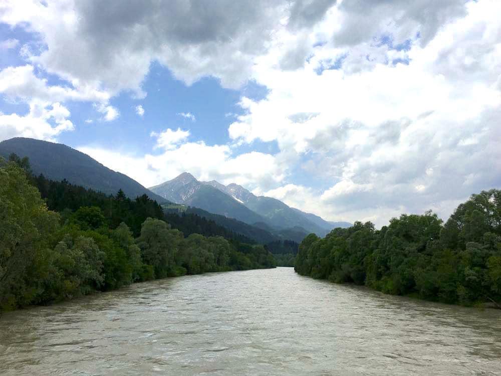 kanufahren paddeln kaernten drau 7 - Kanufahren auf der Drau in Kärnten