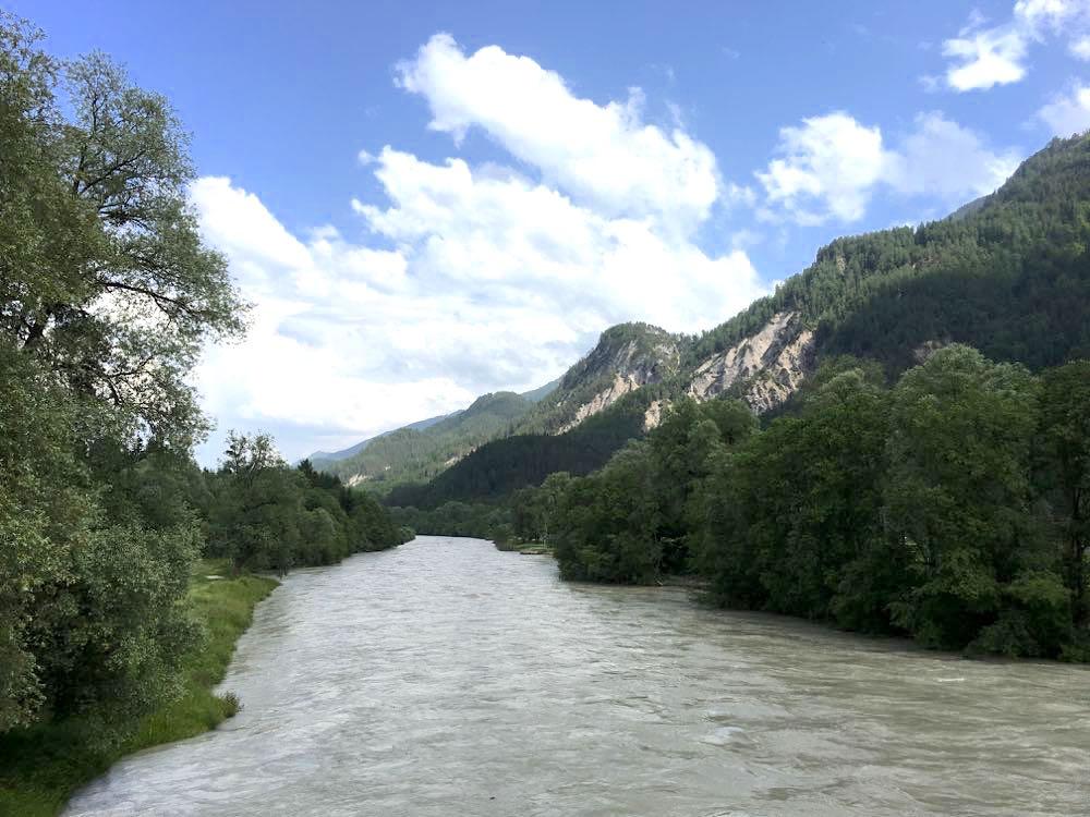 kanufahren paddeln kaernten drau 8 - Kanufahren auf der Drau in Kärnten