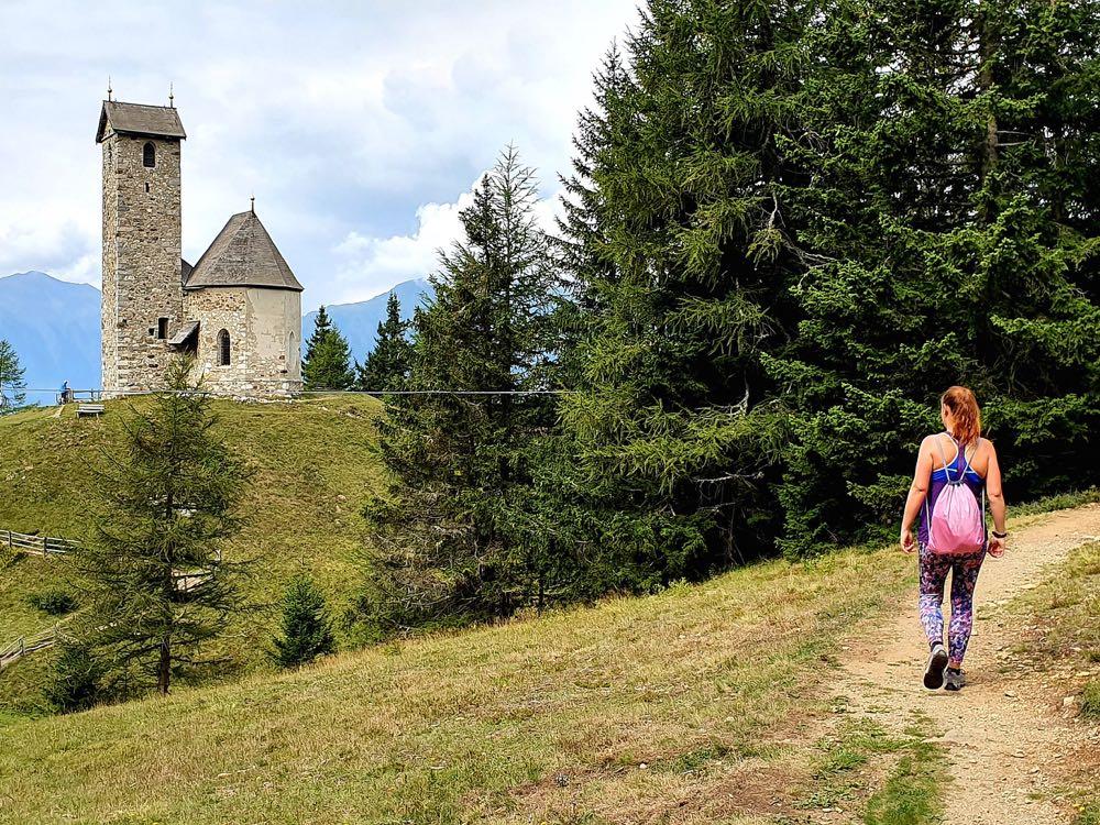 Lana Meraner Land Südtirol Urlaub Vigiljoch