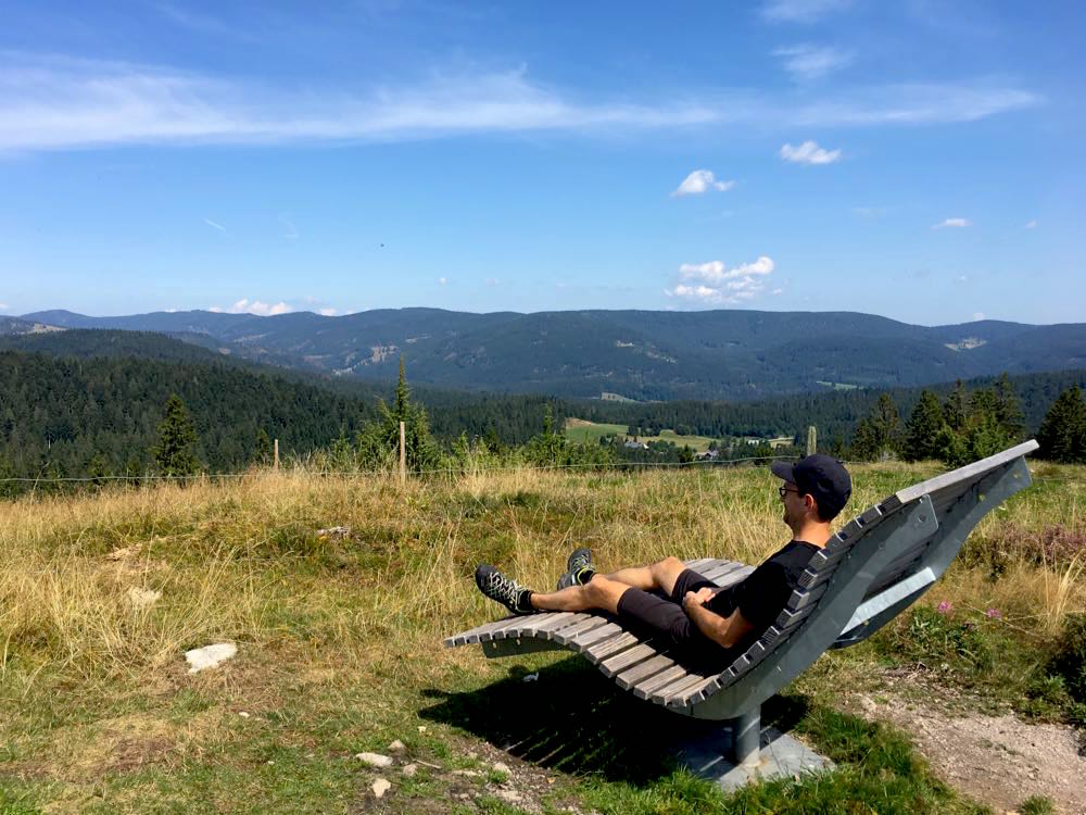 suedschwarzwald wandern ibacher panroamaweg 11 - Südschwarzwald: Wandern mit Blick auf Ibach