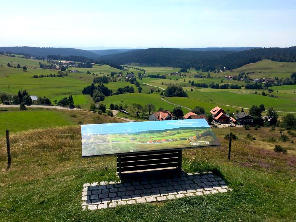 Ibach Panoramaweg Friedenskreuz Südschwarzwald