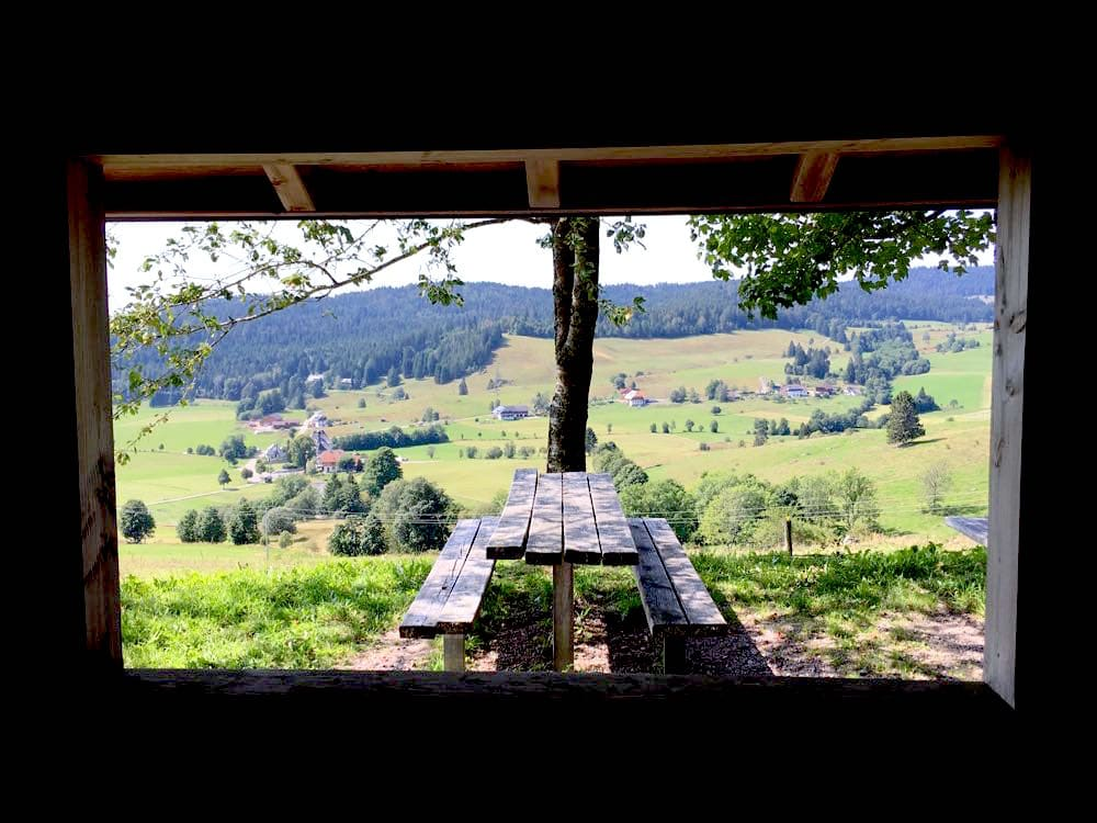 Ibach Panoramaweg Engländerhütte Südschwarzwald