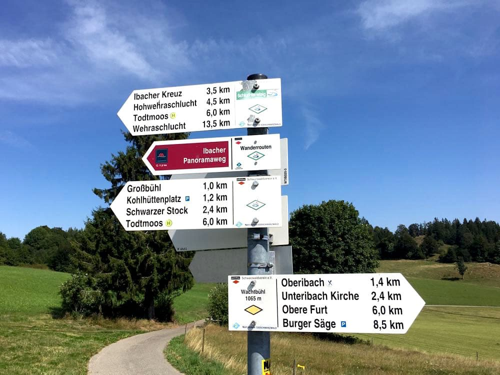 suedschwarzwald wandern ibacher panroamaweg 9 - Südschwarzwald: Wandern mit Blick auf Ibach