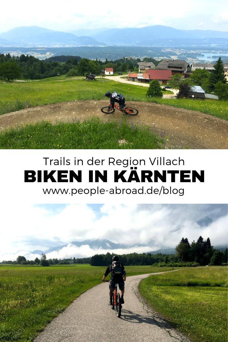 142 - Mountainbiken in der Region Villach in Kärnten