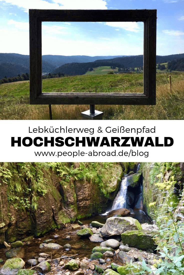 Werbung / Hochschwarzwald: Lebküchlerweg & Geißenpfad #Reisen #Schwarzwald #Wandern #Aktivurlaub #Deutschland