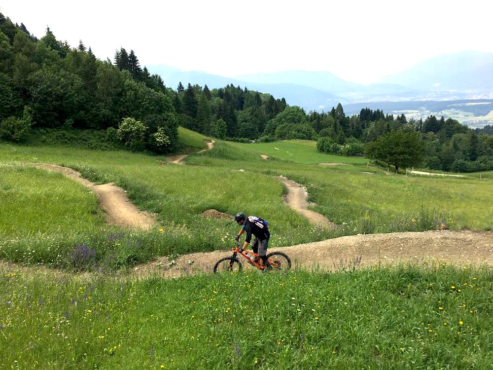 Mountainbiken in Kärnten MTB Radurlaub Radreise Trails
